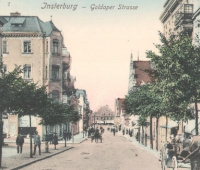 Goldaperstrasse, Insterburg