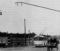 Trolleybus, Insterburg