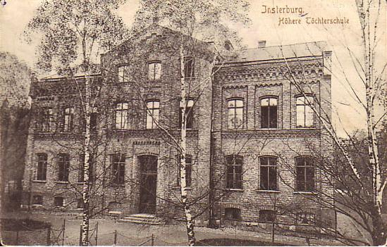 Höhere Töchterschule, Insterburg