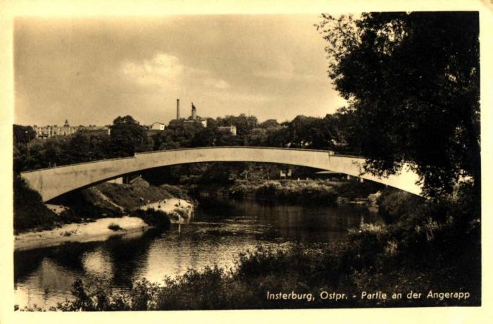 Partie an der Angerapp, Insterburg