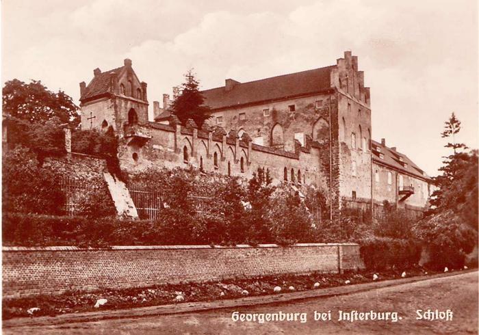 Georgenburg bei Insterburg (Schloss)