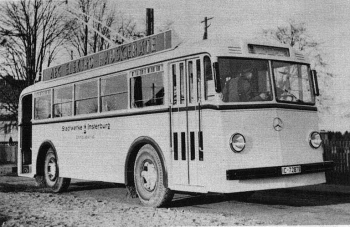 Trolleybus, Insterburg