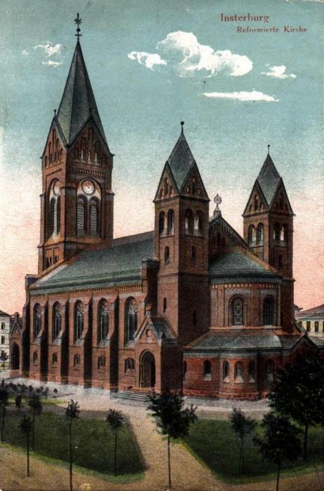 Reformierte Kirche, Insterburg
