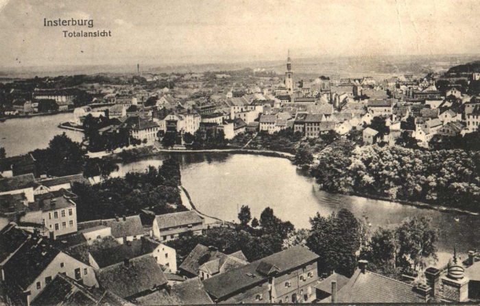 Totalansicht, Insterburg