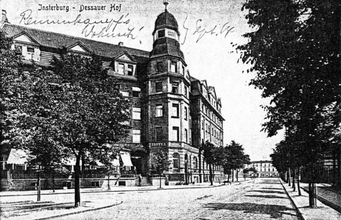 Dessauer Hof, Insterburg