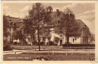 Kaserne - Reiter - Regiment I, Insterburg