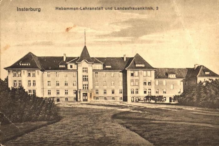 Hebammen-Lehranstalt und Landesfrauenklinik, 2, Insterburg