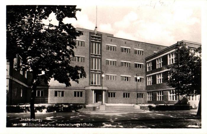 Städr. Mädchenberufs-u. Haushaltungsschule, Insterburg