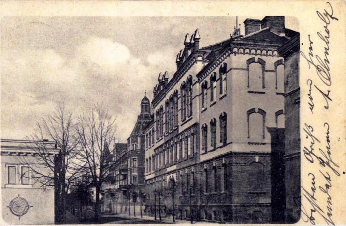 Albrechtstraße, Otto-Braun-Mittelschule, Insterburg