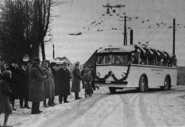 Der erste Trolleybus, Insterburg