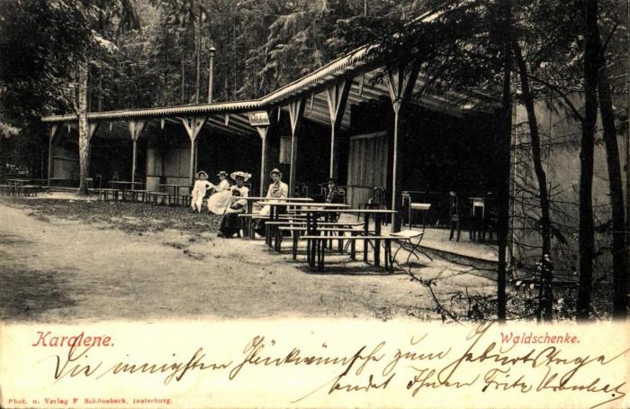 Waldschenke, Karalene (neben Insterburg)