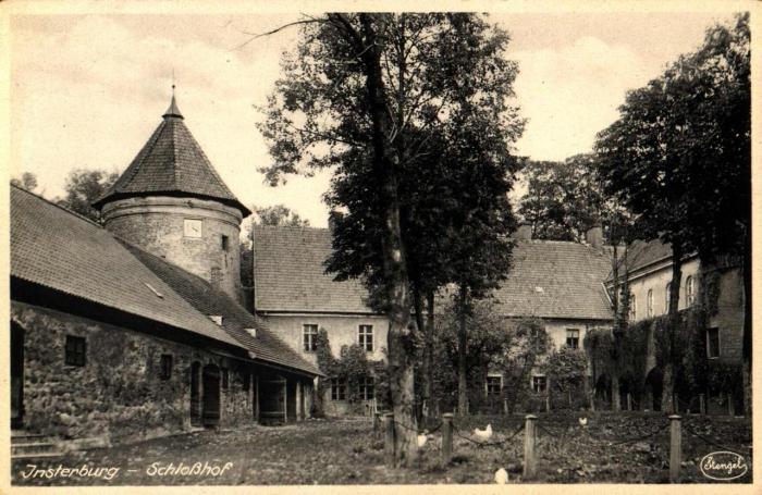 Schlosshof, Insterburg