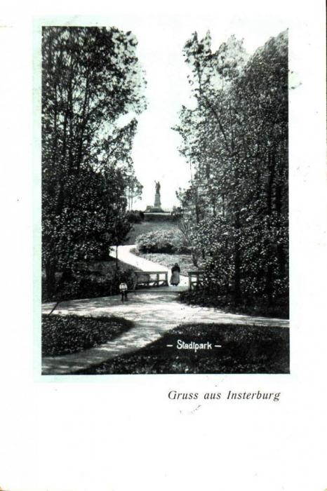 Stadtpark, Insterburg