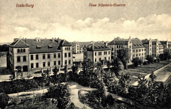 Neue Infanterie-Kaserne, Insterburg