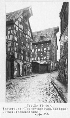 Lutherkirchenstrasse, Insterburg