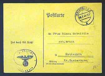 Brief aus Insterburg