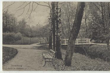 Partie im Stadtpark, Insterburg