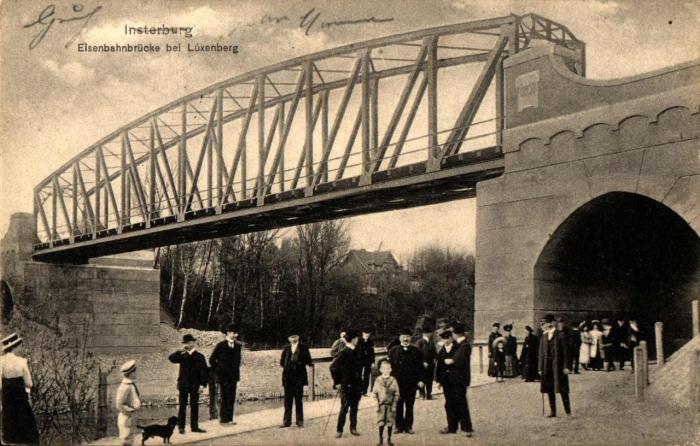 Eisenbahnbrücke bei Luxemberg, Insterburg