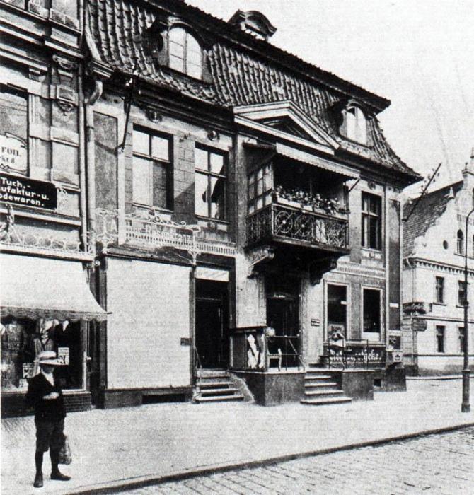 Gebäude an dem Alter Markt, Insterburg