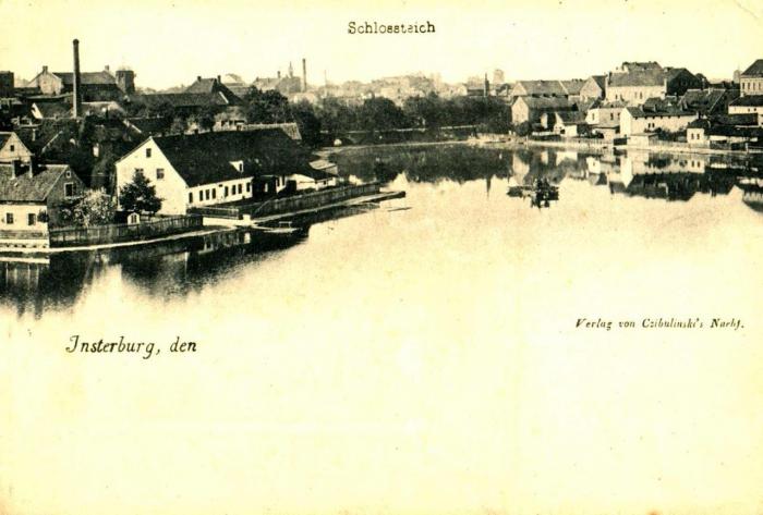 Schlossteich, Insterburg