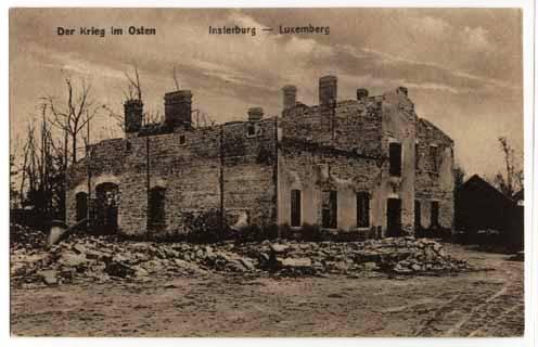 Krieg im Osten. Luxemberg, Insterburg