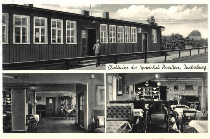Clubheim des Sportclub Preussen, Insterburg