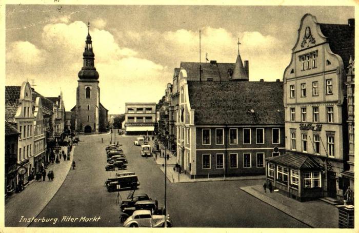 Alter Markt, Insterburg
