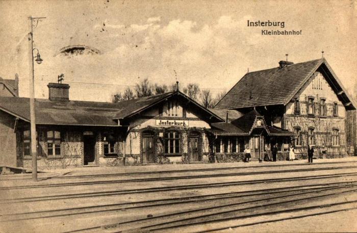 Kleinbahnhof, Insterburg