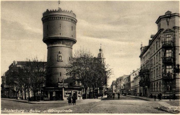 Below-u. Göringstrasse, Insterburg
