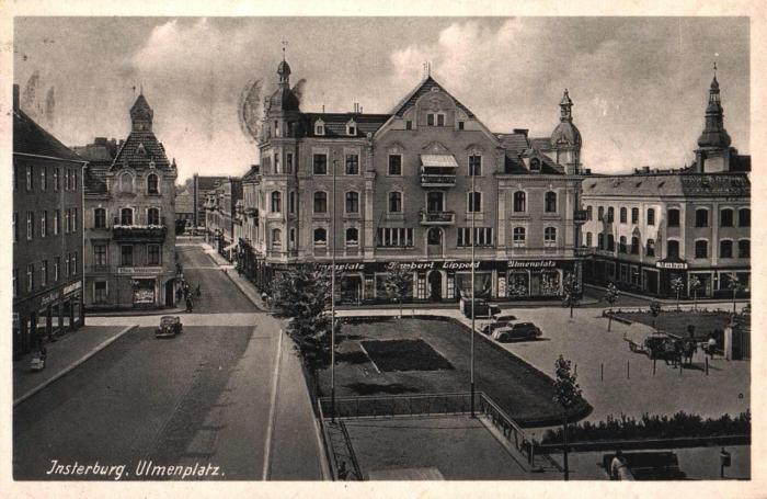 Ulmenplatz, Insterburg