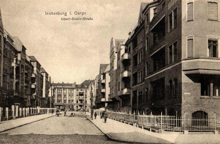 Albert-Stadie-Strasse, Insterburg