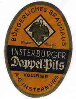 Insterburger Doppel-Bils, Insterburg
