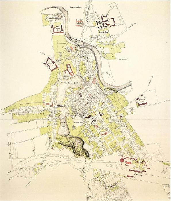 План города Инстербург