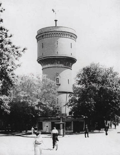 Водонапорная башня на ул. Спортивной, Черняховск