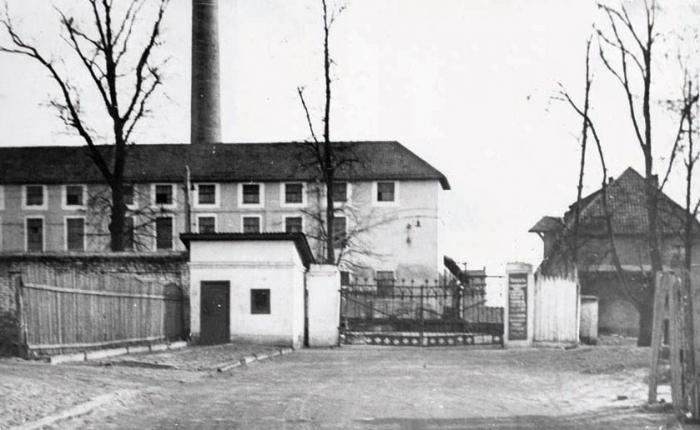 Черняховский маслозавод. 1950-е годы