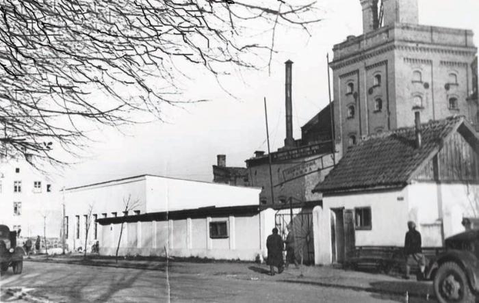 Гвоздильно-сеточный завод. 1950-е годы, Черняховск