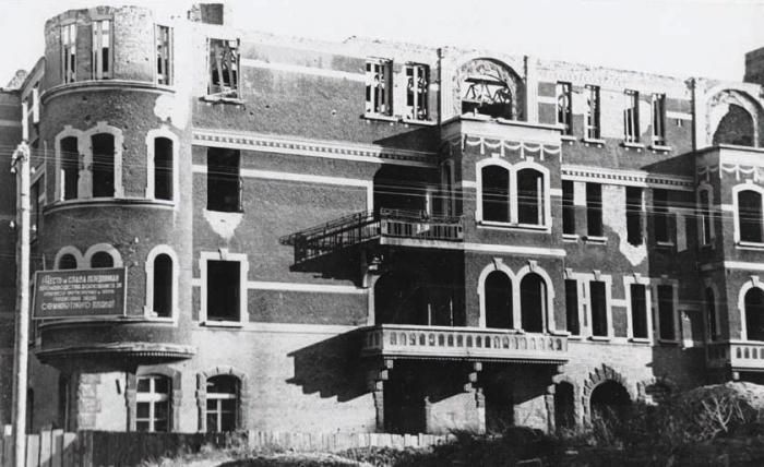 Ул. Советская. 1947 год, Черняховск