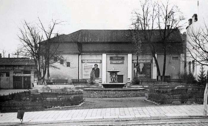 Кинотеатр «Ударник». 1950-е годы, Черняховск