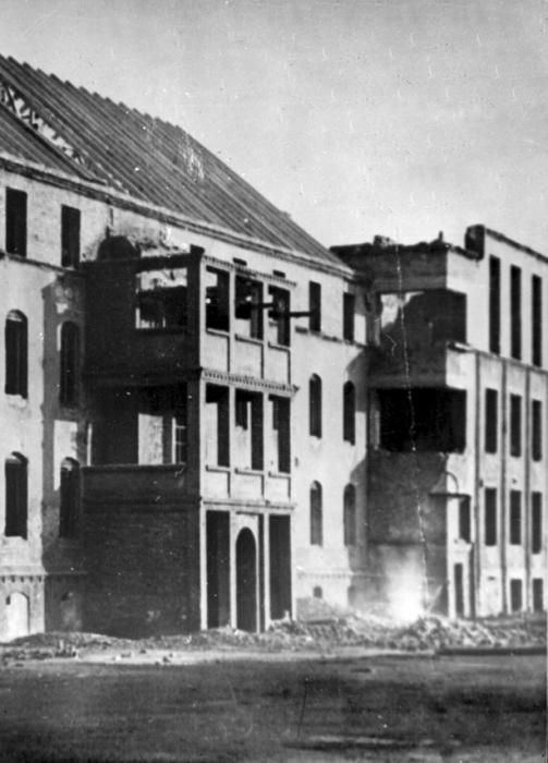 Инстербург после боев