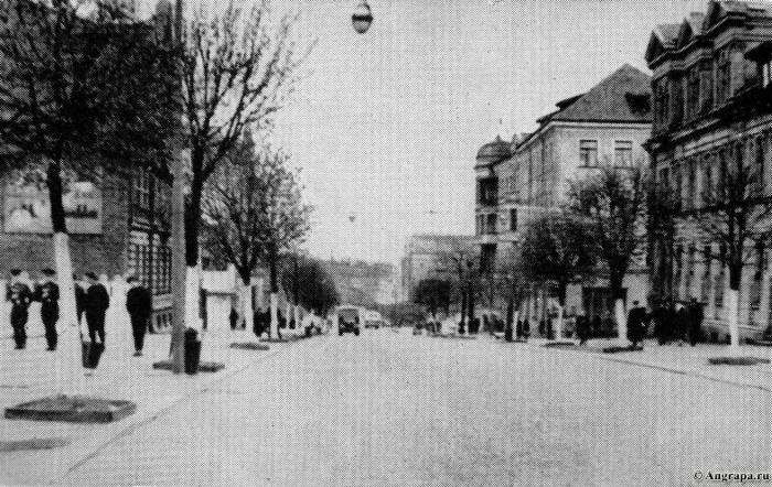 Улица Ленина (1962 год), Черняховск