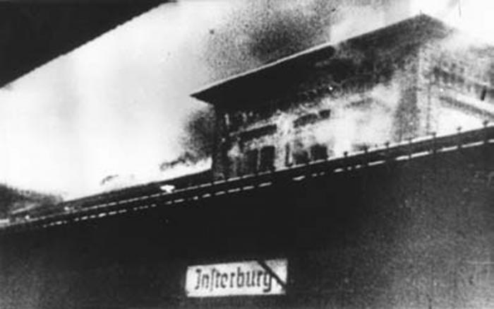 Вокзал Инстербурга
