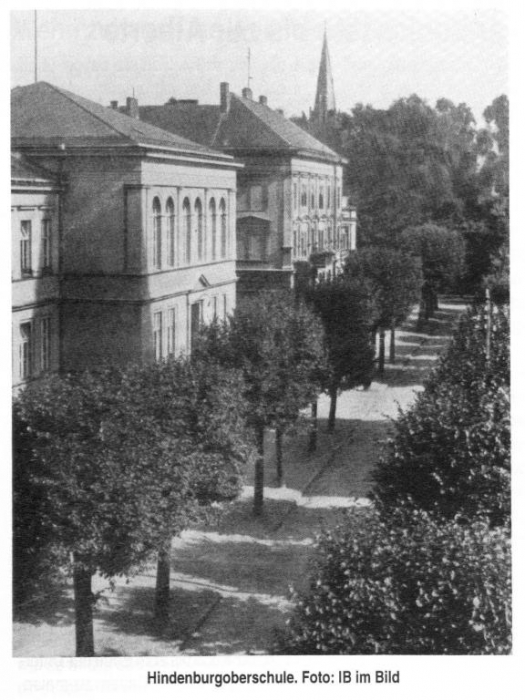 Hindenburgoberschule, Insterburg