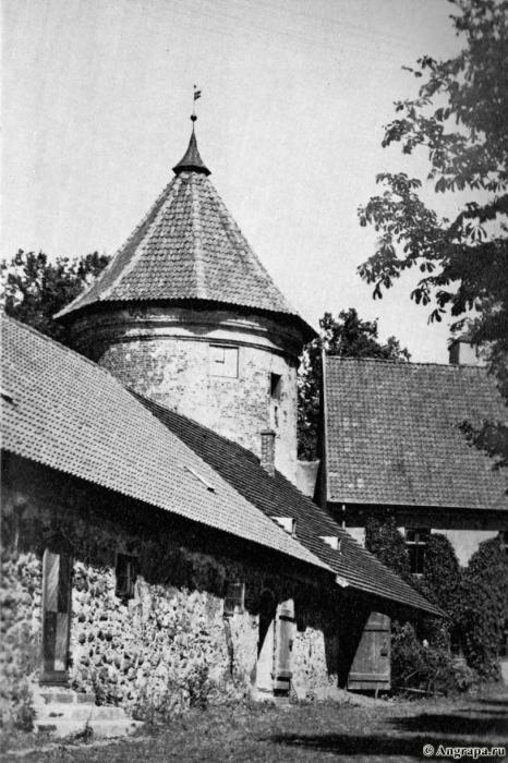 Der Peinturm. Schloss Insterburg, Insterburg