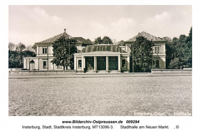 Stadthalle am Neuen Markt, Insterburg