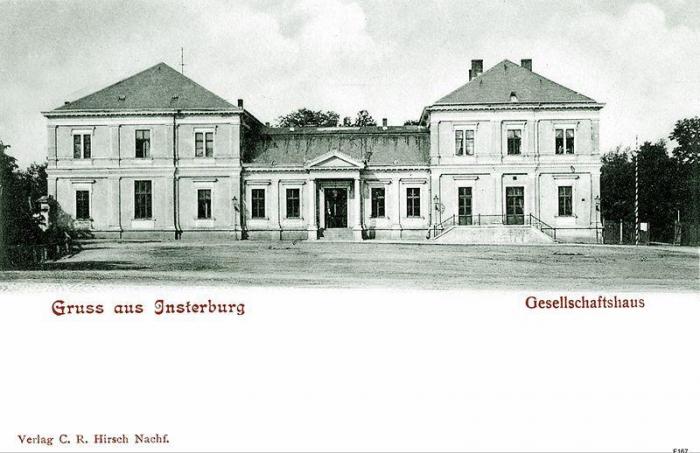Gesellschaftshaus, Insterburg