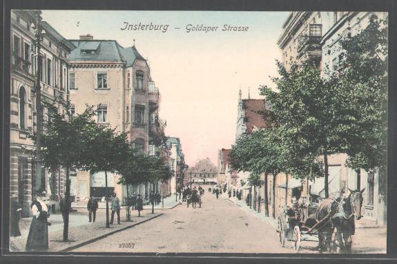 Goldaperstrasse, Insterburg