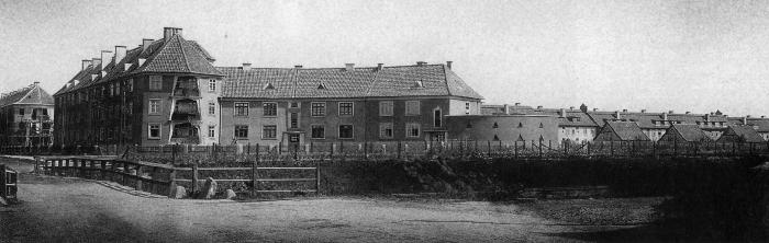 Siedlung Kamswyken bahnseitig, Insterburg