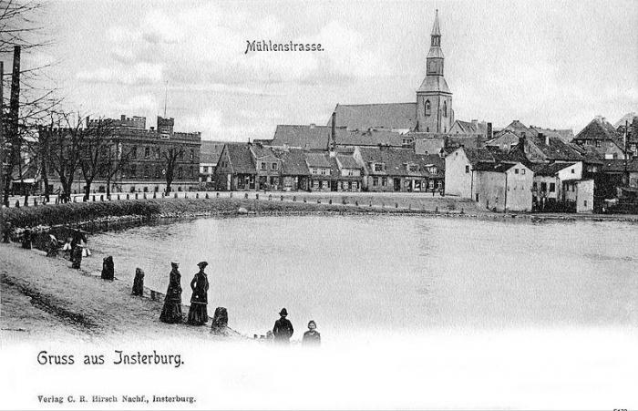 Mühlenstrasse, Insterburg