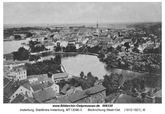 Blickrichtung West>Ost, Insterburg