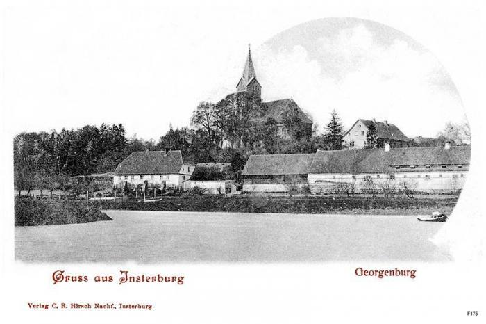 Georgenburg, Kreis Insterburg